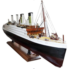 Titanic Wooden Ship Model,