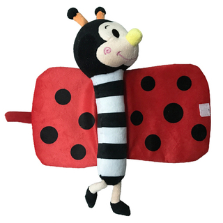 Custom Plush Ladybugs Cloth Book for Baby