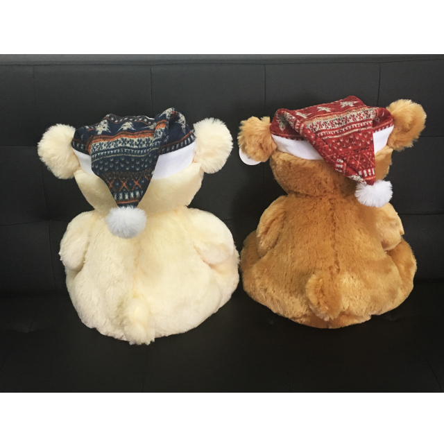 Christmas Gifts Teddy Bear with Stars And Moon