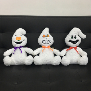Plush Ghost Toys with LED And Terrible Voice for Party