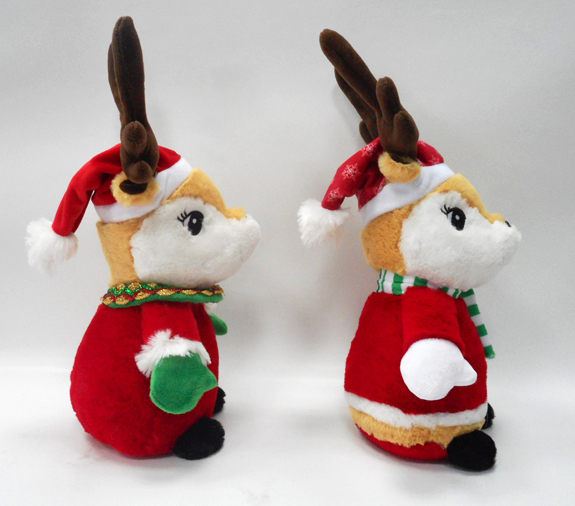 Plush Little Animal Christmas Deer Stuffed Toy for Kids