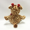 Valentine Gift Soft Plush Giraffe Toys With Red Heart