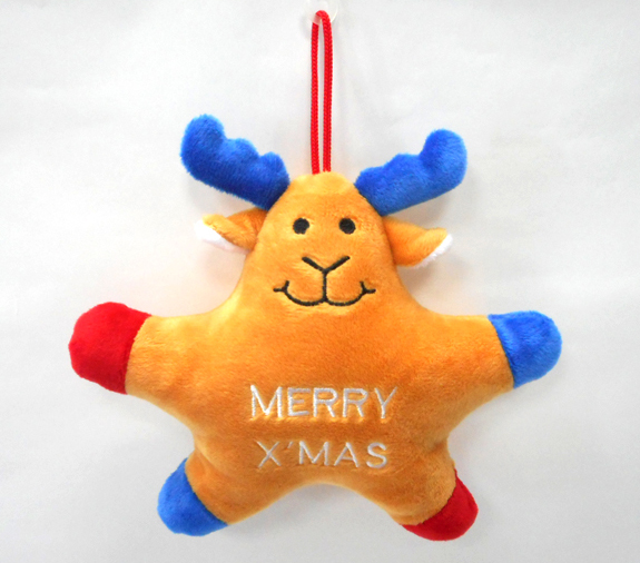 Tree Decorations Small Deer Christmas Plush Toys
