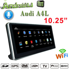 "10.25""Blu-ray Anti-Glare Audi A4 A5 MMI 2G 3G Multimedia Car Stereos Wifi 4G DAB AUX USB Screen Mirroring 4 64g"