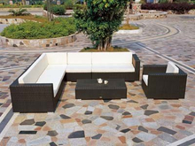 Outdoor Furniture PE Rattan Sofa Set