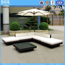 Garden Rattan Sofa Modern Outdoor Furniture