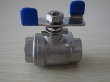 Ball Valve with Butterfly Handle (YZF-15)