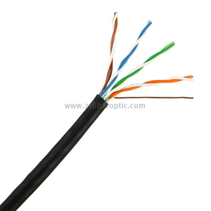 Factory Price outdoor waterproof 24AWG UTP/FTP CAT5E NETWORK CABLE