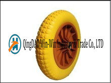 Solid PU Wheels with Rim From China Supplier