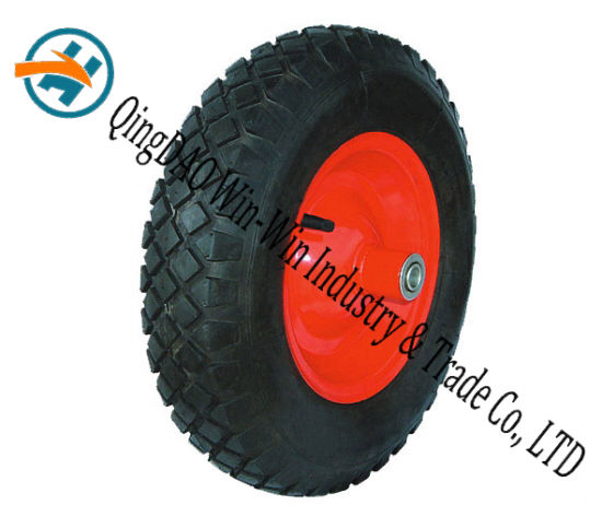 Wear-Resistant Rubber Wheel Used on Hand Track (4.80/4.00-8)
