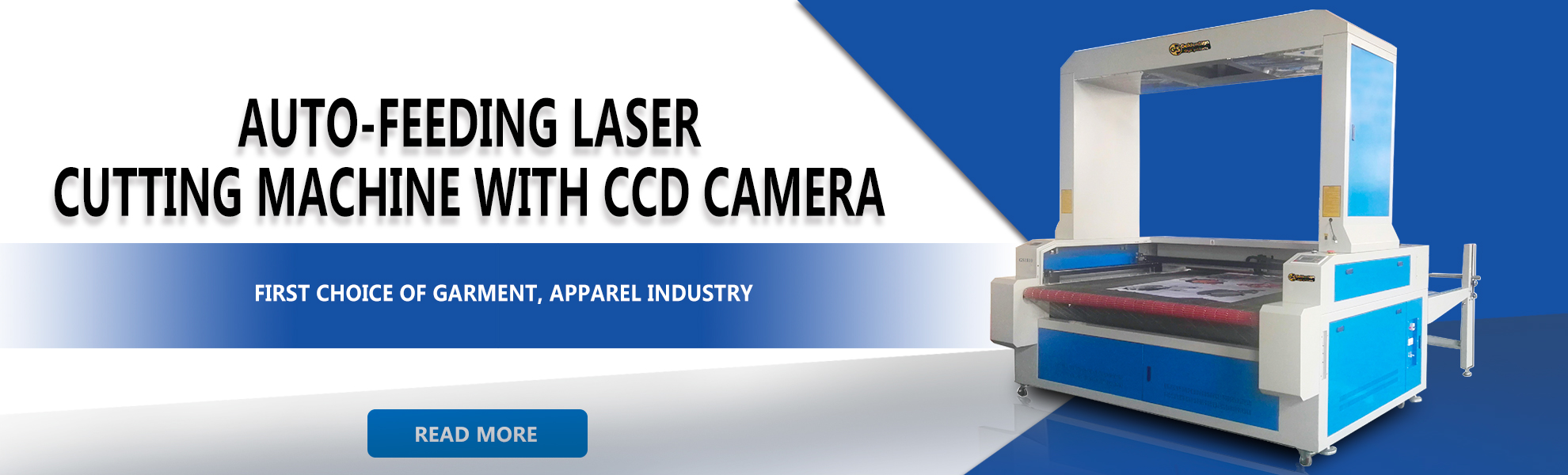 GS CCD Camera Laser Cutting Machine