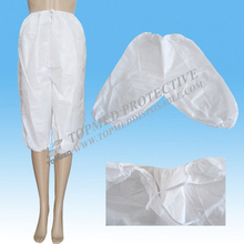 Nonwoven open shorts pants for sauna and beauty salon use