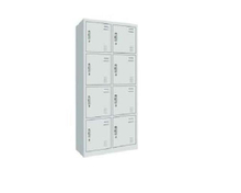 Steel Wardrobe With 8 Doors (SC-11)