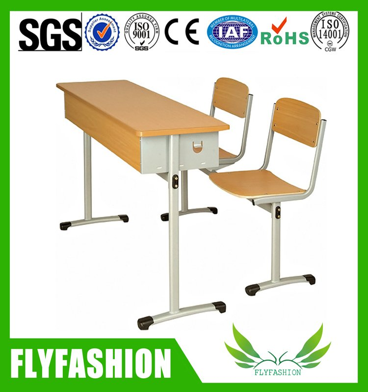 Double School Desk and Chair (SF-03D)