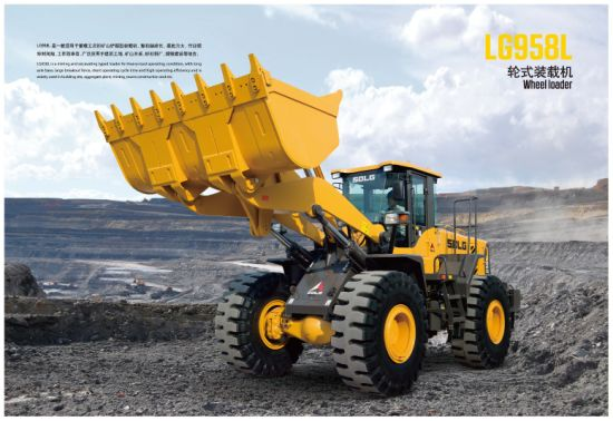 Brand New China 5t Sdlg Wheel Loaders LG958L for Sale