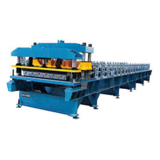 Color Steel Step Tile Forming Machine