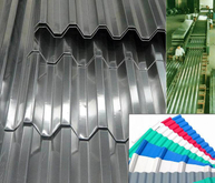 Aluminium Corrugated Sheet Trapezoidal Wave