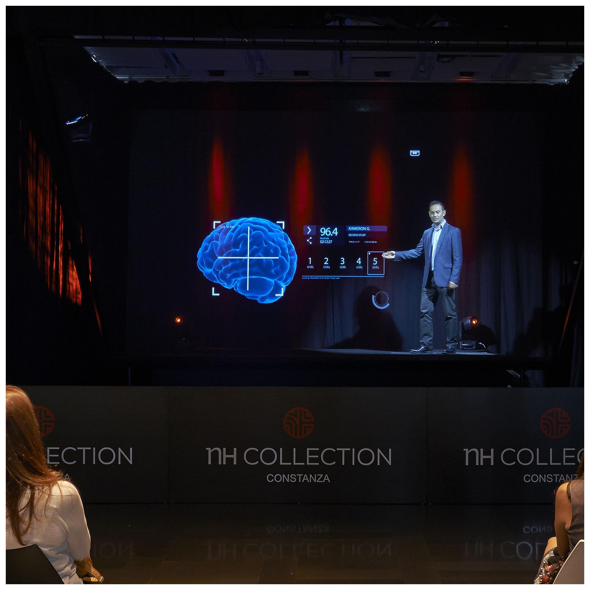 Holographic Musion Eyeliner Foil 3D Hologram Projector System Pepper