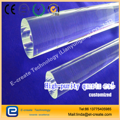 clear quartz rod9*1830mm