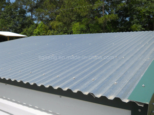 Aluminium Zinc Coated Steel Sheets Corrugated Galvalume Roof Tile
