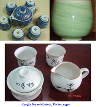 Gongfu Tea Set (Double Cups)