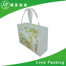 Custom Design fashion colorful recycled tote shopping pp non woven bag with competitive price