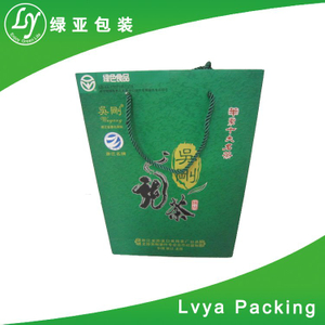Red Wine Bags Recycled Material Kraft Paper Bag Of China Exporter