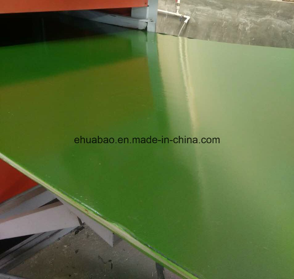 Green PVC Film Faced Plywood for Shuttering