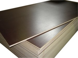 Brown Film Poplar/Birch Film Faced Plywood for Concrete