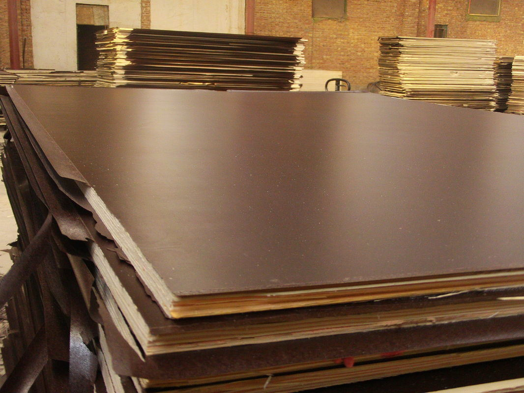 Dynea Brown Film Faced Plywood Poplar Core for Shuttering