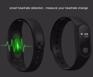 M2 Smart Bracelet Heart Rate Monitor Bluetooth Watch Health Fitness Tracker Devices