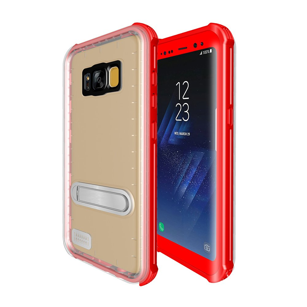 Full Cover Waterproof Mobile Phone Case for Samsung S8 Edge