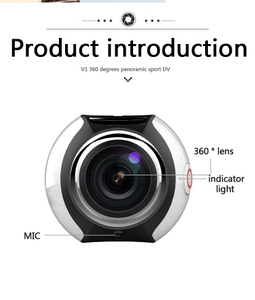 Full View Sport Camera 360 Degree Panorama Camera Outdoor Cam