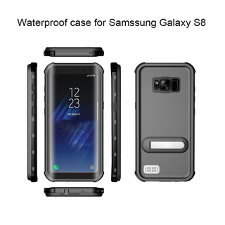 New Full Protective Waterproof Cell Phone Case for Samsung S8