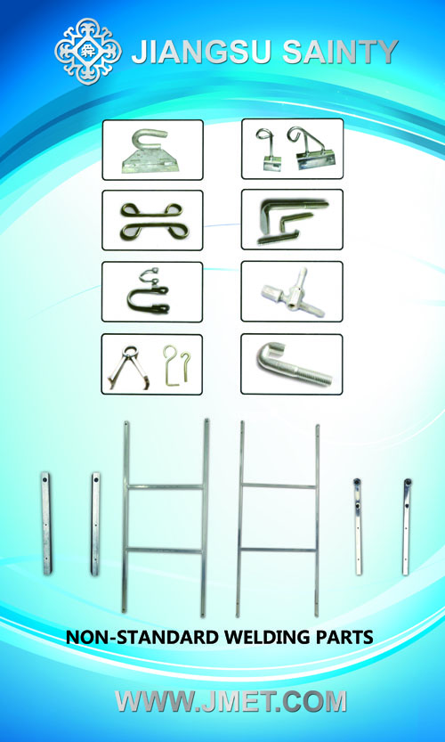 Non-stanndard welding parts