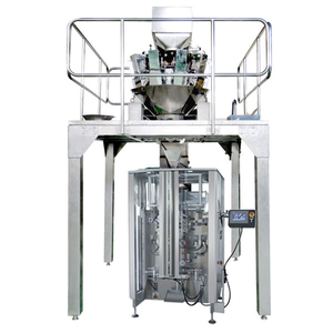 granule quad seal bag packer