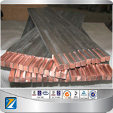 Ti-copper clad bars titanium and copper alloy rods for sale