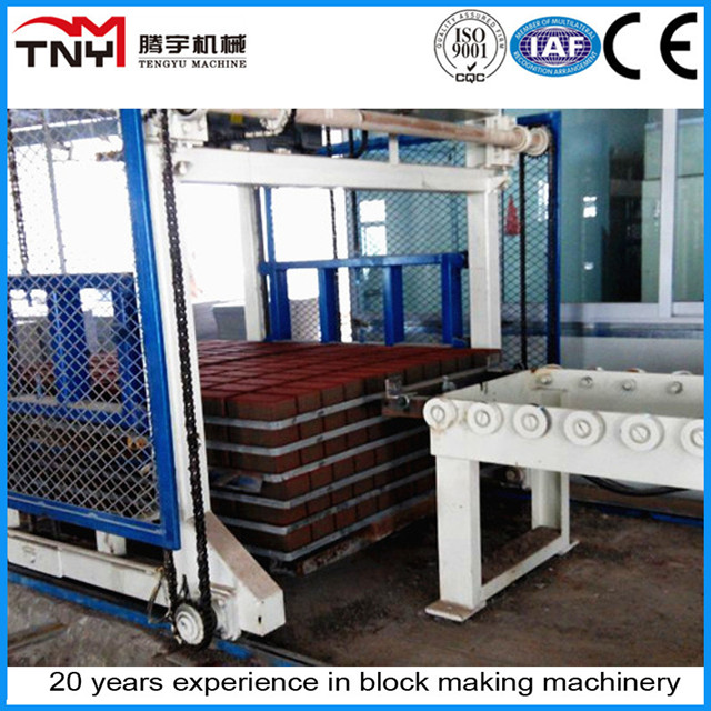 Automatic Block Stacker