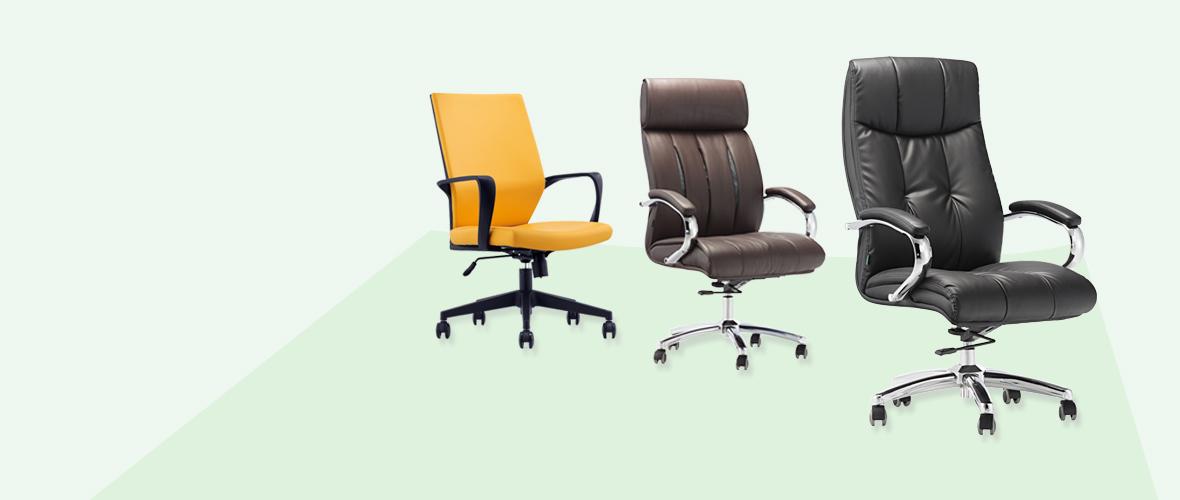 leather ergonomic office chairs