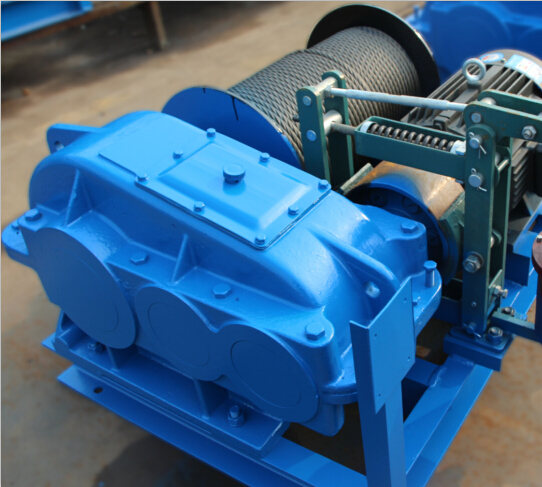 JK electric winch with fast speed 1