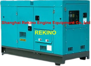 Cummins 30KW 50HZ super silent diesel generator set