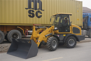2017 CE New front end mini wheel loader ZL15 manufacturer