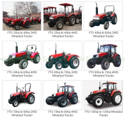 SINOMACH Wheeled tractors MF500 / 1804 export to Ghana price