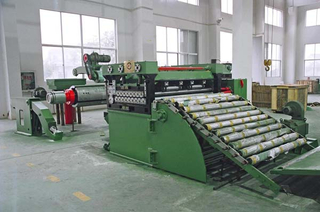 high speed cut to length line machine
