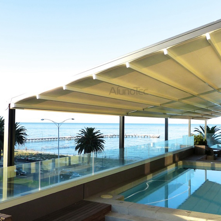 Waterproof Pvc Retractable Awning Pergola Systems Buy