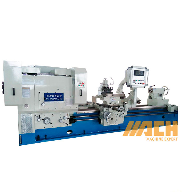 CW6628 Horizontal Oil Country Lathe Machine Pipe Threading Lathe