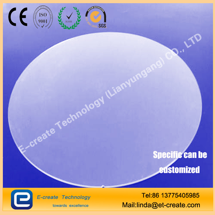 Borosilicate glass wafer 4 inch, 6 inch, 8 inch, 12 inch, customizable size and thickness