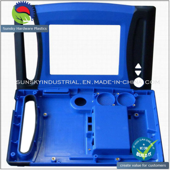 Double Injection Plastic Case for Bingo (PL18035)