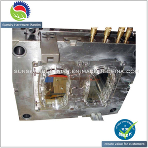 CNC Precision Auto Parts Mold Plastic Injection Tooling Mould