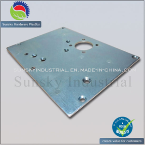 CNC Milled Metal Plate for Machining Base (ST13134)